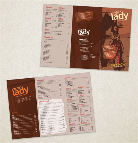 indian restaurant menu design template indian restaurant menu template designs traditional