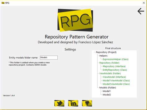 repository pattern helper repository pattern msdn repository pattern generator