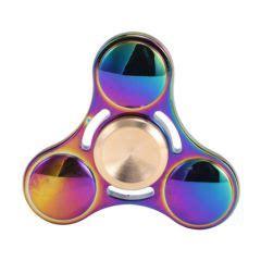 Fidget Spinner Rainbow Holo Aluminium Murah fidget et spinners pour occuper les doigts lorsqu ils ne sont pas sur le smartphone iphone