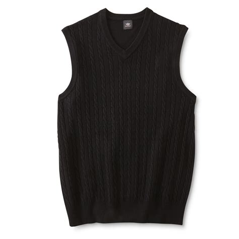 mens cable knit sweater vest dockers s cable knit sweater vest shop your way