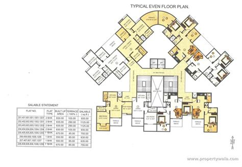 market mall floor plan ravinanda sky lights wagholi pune apartment flat