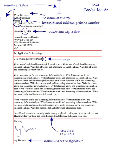 lay out of a cover letter cover letter layoutpic