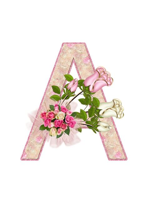 decoupage letters flores y letras para decoupage pink roses letters and