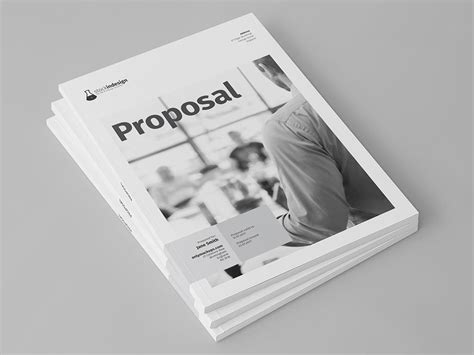 proposal template for adobe indesign