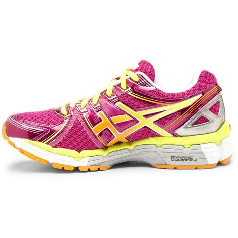 kayano womens running shoes asics gel kayano 19 womens running shoes pink yellow