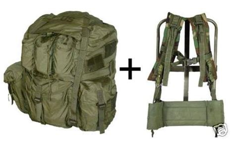 64 pattern rucksack frame field pack lc 1 type large frame 36 99