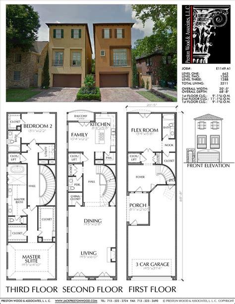 Townhouse Duplex Plans by 68 Best Townhouse Duplex Plans Images On