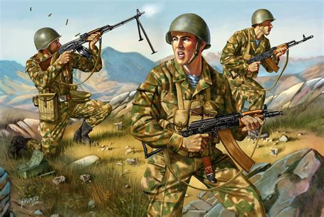 soviet paratrooper vs mujahideen fighter afghanistan 1979â 89 combat books wallpaper vdv paratroopers special forces