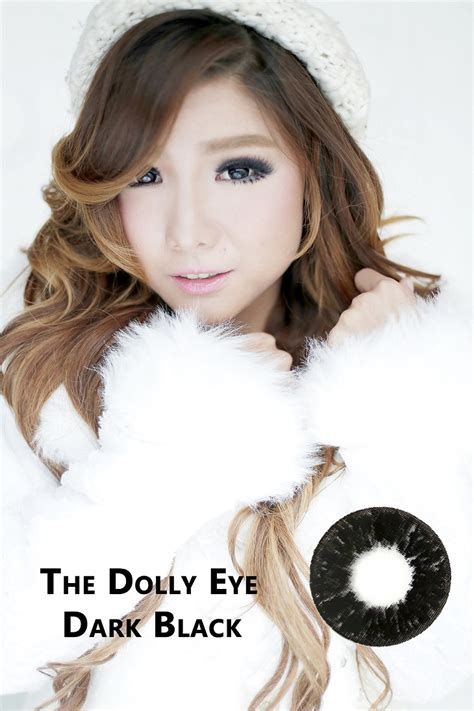 Eye Softlens Grey softlens dolly eye black 22 8mm softlens