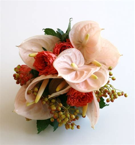 Wedding Bouquets Bc by Anthurium Wedding Bouquet With Seasonal Influence