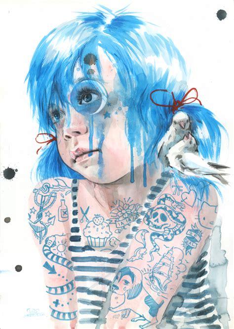 Tattoo Girl Lora Zombie | sailor girl by lora zombie on deviantart