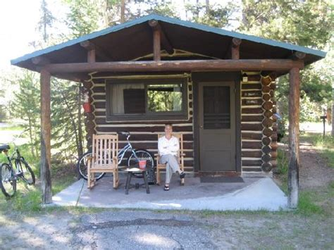 Jackson Lake Cabins by Sitting On The Porch At Lake Lodge Cabins Picture