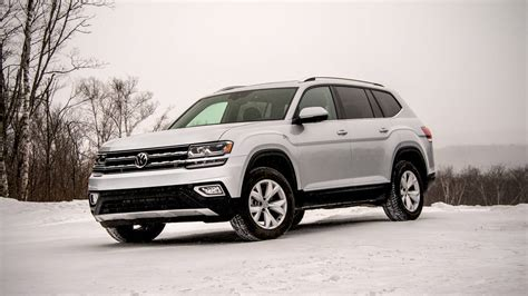 volkswagen atlas white 2018 vw atlas review with price horsepower and photo gallery