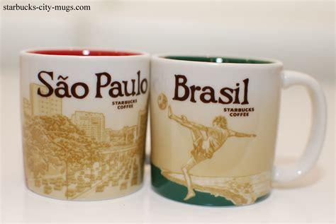 Tumbler Starbuck Sao Paolo brasil and sao paulo demi starbucks city mugs