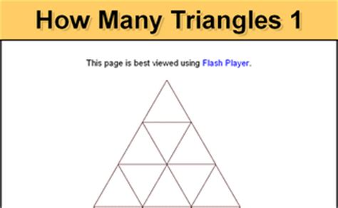 how many triangles are there in this diagram shape lesson starters and activities
