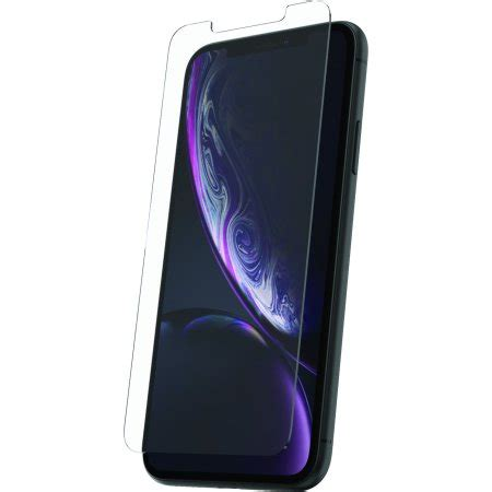 onn tempered glass screen protector for iphone xr walmart