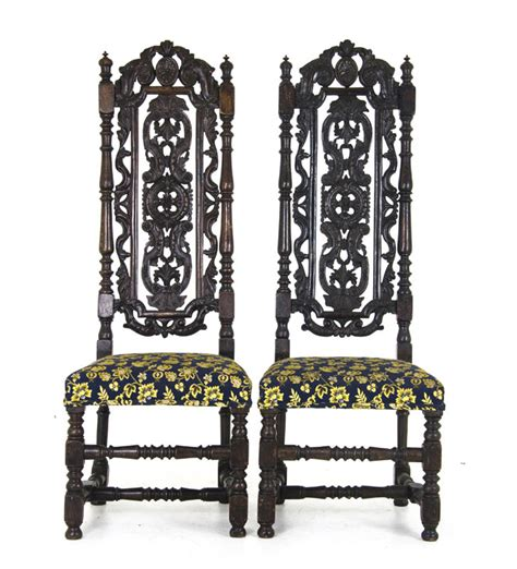 vintage chair rentals vancouver antique carved chairs carolean style upholstered