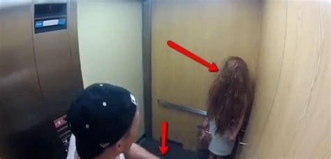 candid ascensore candid con la bambina fantasma finisce