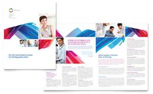 software solutions brochure template word amp publisher