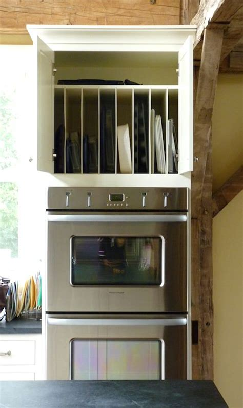 cutting kitchen cabinets great vertical storage for cookie sheets cutting boards
