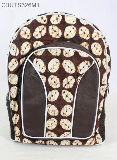 Tas Mini Motif tas ransel batik mini motif batik klasik tas sekolah