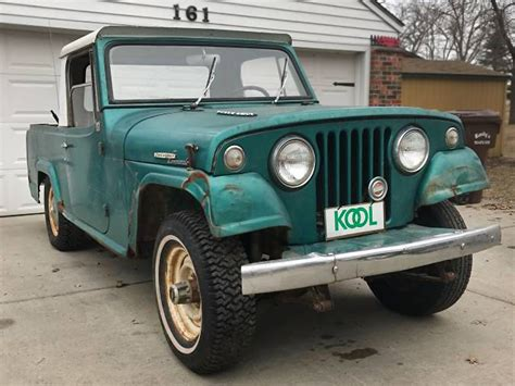 commando green jeep kool commando 1967 jeepster commando