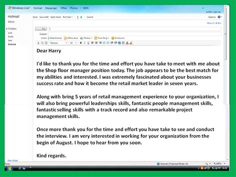 9 thank you email template after interview free samples