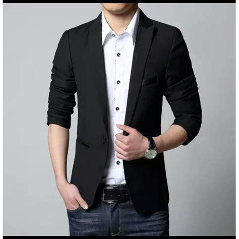 Jas Cowok Jas Exclusive Light Grey blazer cowok abu tua babyterry daftar harga produk