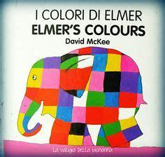 libro elmer elephant colours buggy pasos de luna bibliotecas
