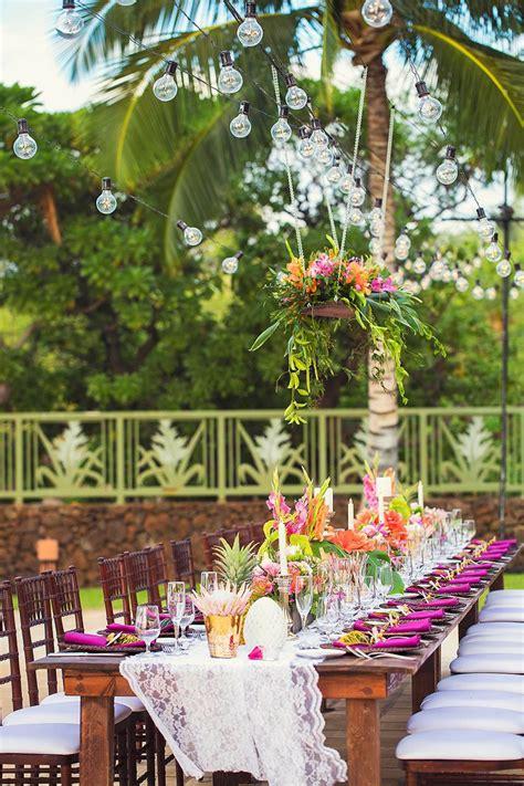 hawaii wedding florist tropical wedding ideas tropical