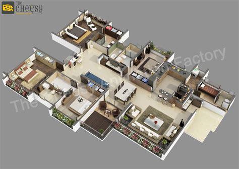 cheesy animation    floor plan  house