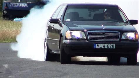 Mercedes 600 V12 Mercedes S 600 V12 Biturbo 0 270km H Acceleration And