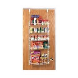 the door spice rack shelf can organizer wire hanging