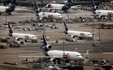freight planes at airport overabundance cargo aircraft aircraft aviation