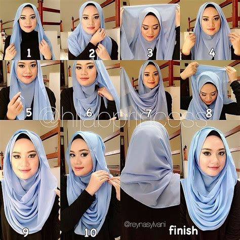 hijab tutorial volume without the camel hump 43 best hijab scarf how to images on pinterest hijab