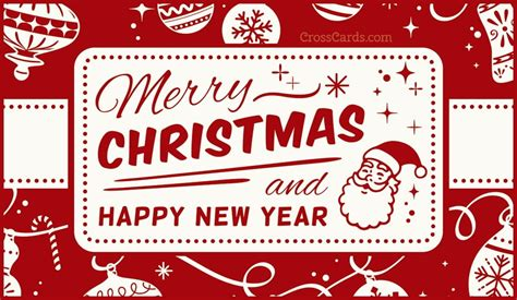 merry christmas  happy  year ecard  christmas cards