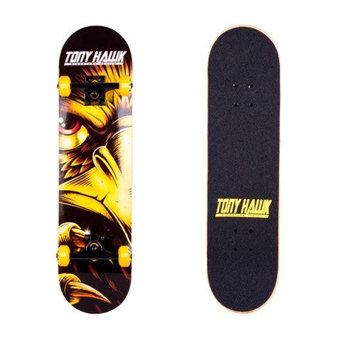 Skatebord Tonyhawk Bekas skateboard tony hawk peeper insportline