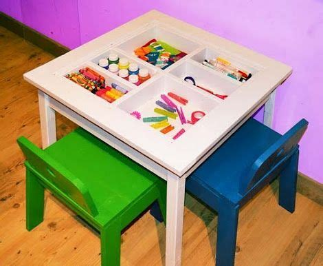 kids art table with storage storage containers for kids arts and crafts