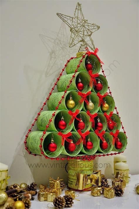 vintagellous 193 rbol de navidad reciclado navidad navidad ideas para and