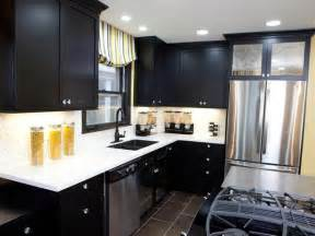 Kitchen Ideas With Black Cabinets by Remodeled Kitchens With Dark Cabinets Black Kitchen