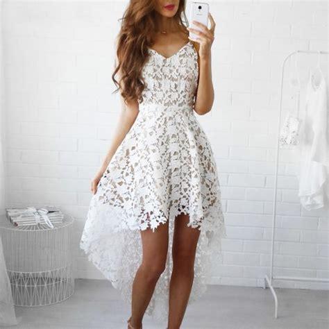 Dress W5796uzi D Black White bohemian white lace dress boho style dresses top tier