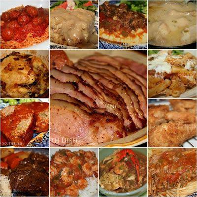 deep south dish favorite menu ideas for sunday dinner