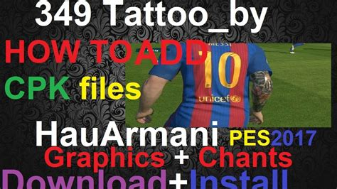 tattoo pack pes 2017 pte patch 6 0 tattoo pack pes 2017 pte patch 6 0 pes 2017 pte patch 5 0