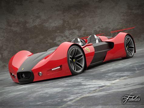 future ferrari models ferrari celeritas concept car 3d model