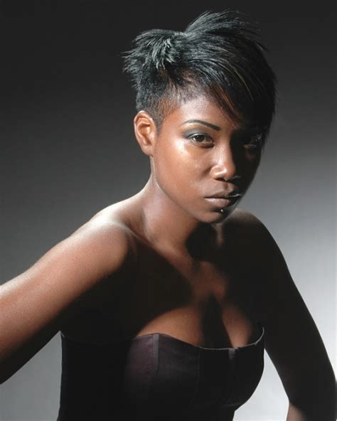 side swept hairstyles for black 35 cool short hair styles for black women creativefan