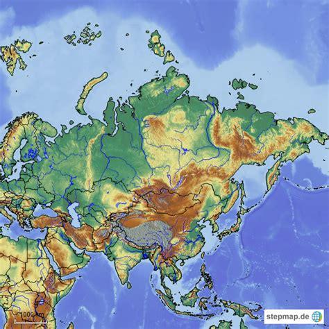 Asiat Gebirge by Asien Gebirge Stepmapuser9876 Landkarte F 252 R Asien