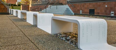 corian thermoforming corian bench choate rosemary design by studio abk