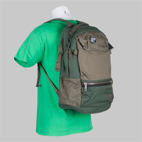 Volcom Dc Vans Colour buy volcom clothing backpack symptom bag green