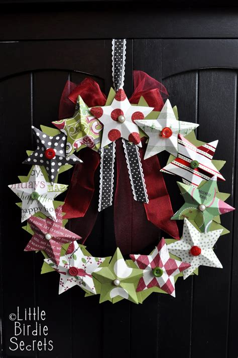 Paper Wreaths To Make - wreaths that dazzle blissfully domestic