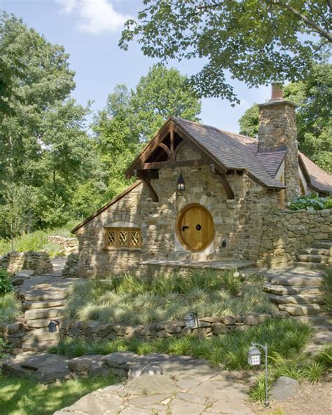 pictures of hobbit houses hobbit house front view rustic exterior